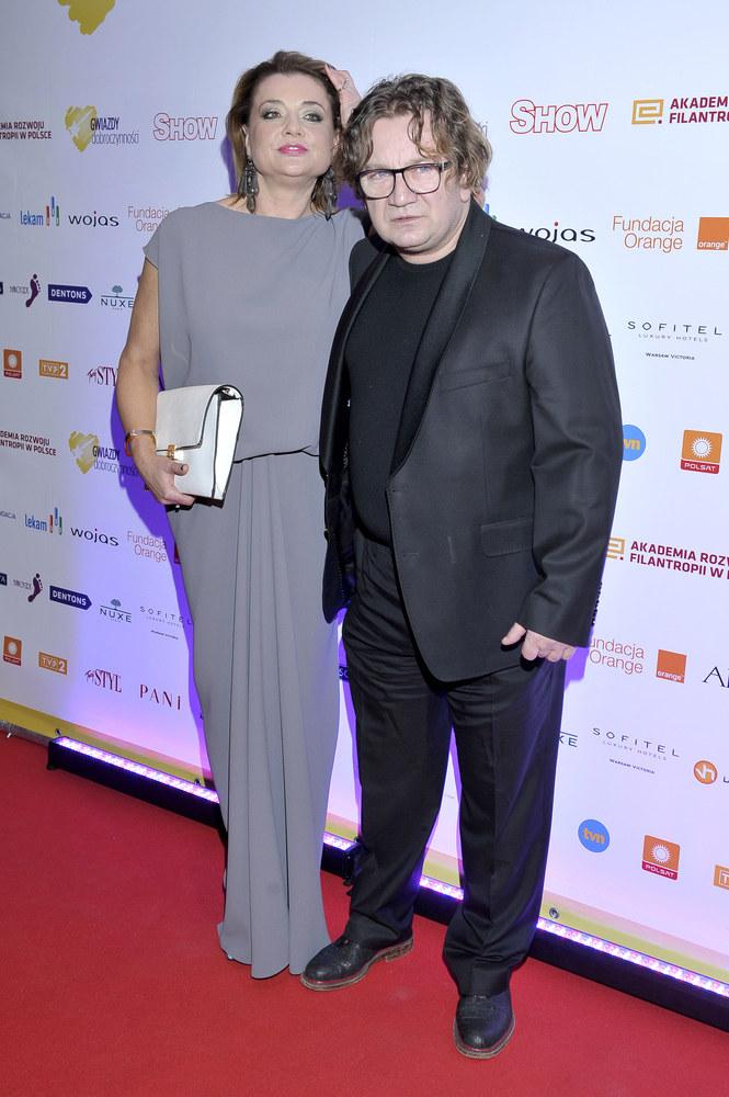 Małgorzata i Paweł Królikowscy /Mieszko Pietka /AKPA