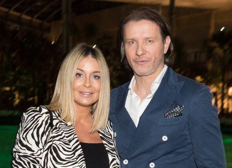 Małgorzata i Radosław oczekują swojego pierwszego dziecka /Piotr Fotek/REPORTER /Reporter