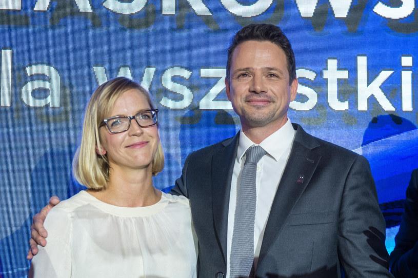 Małgorzata i Rafał Trzaskowscy /Jacek Dominski/REPORTER /East News