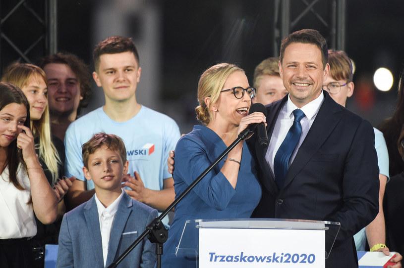 Małgorzata i Rafał Trzaskowscy / Jacek Domiński