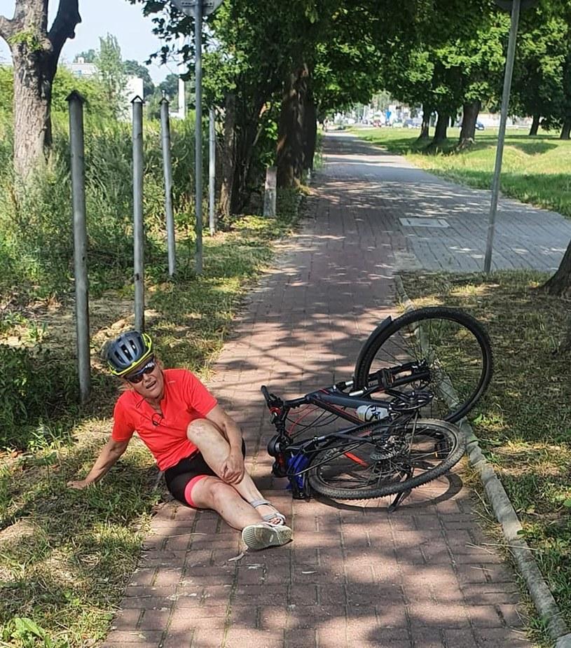 Małgorzata Jacyna-Witt o swoim wypadku na ścieżce rowerowej poinformowała na Facebooku /Małgorzata Jacyna-Witt /facebook.com