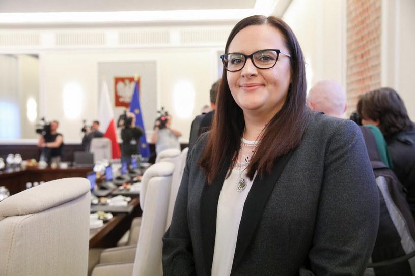 Małgorzata Jarosińska-Jedynak, minister funduszy i polityki regionalnej /Andrzej Iwańczuk /Reporter