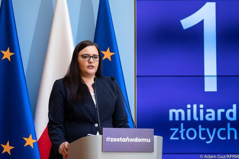 Małgorzata Jarosińska-Jedynak, minister funduszy i polityki regionalnej, źródło: KPRM /