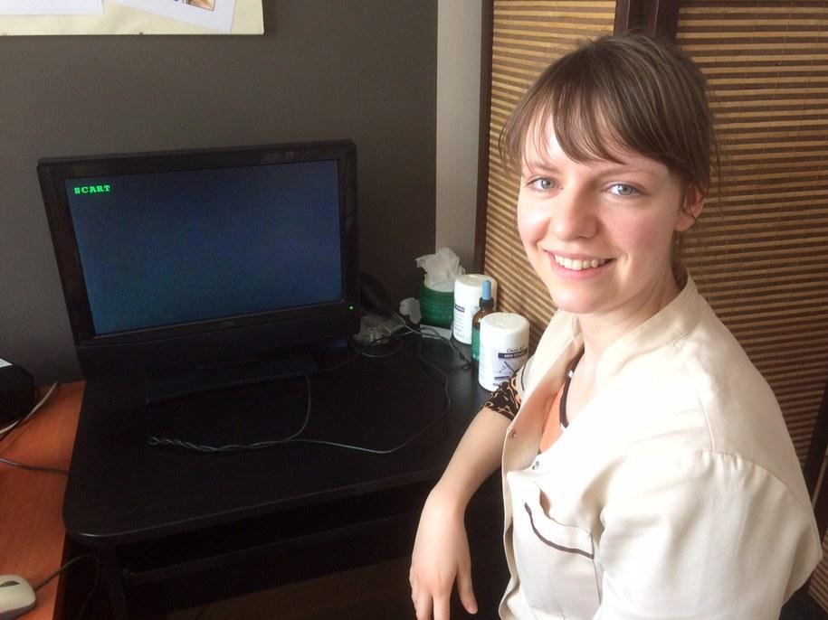 Małgorzata Jednoróg, specjalista trycholog z Centrum Trychologii we Wrocławiu /Bartek Paulus /RMF FM
