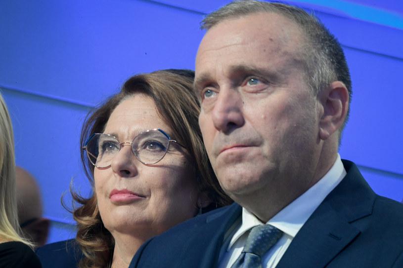 Małgorzata Kidawa-Błońska i Grzegorz Schetyna /Jacek Dominski/ /Reporter