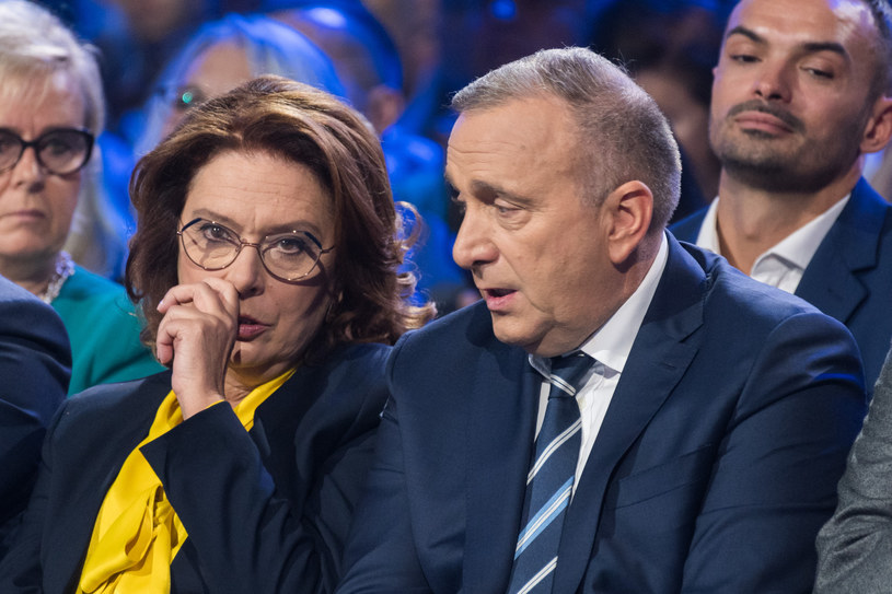 Małgorzata Kidawa-Błońska i Grzegorz Schetyna /Jacek Domiński /Reporter