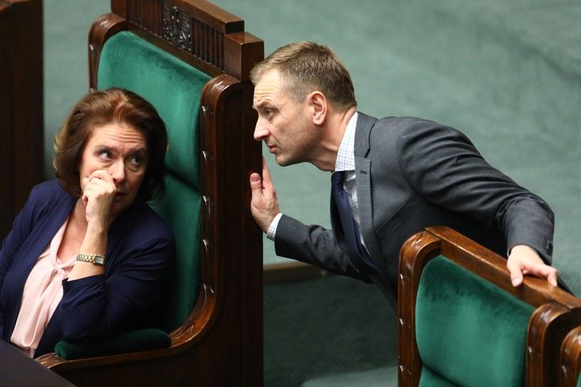 Małgorzata Kidawa-Błońska i Sławomir Nitras /STANISLAW KOWALCZUK /East News