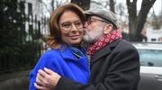 Małgorzata Kidawa-Błońska może liczyć na wsparcie męża. To znany reżyser