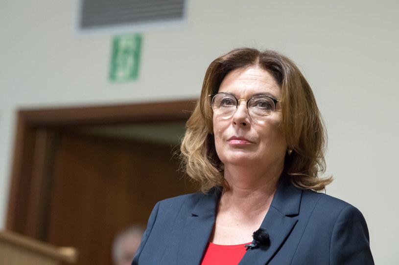 Małgorzata Kidawa-Błońska oświadczyła, że nie podpisze ustawy zaostrzającej prawo aborcyjne /Wojciech Strozyk/REPORTER /Reporter