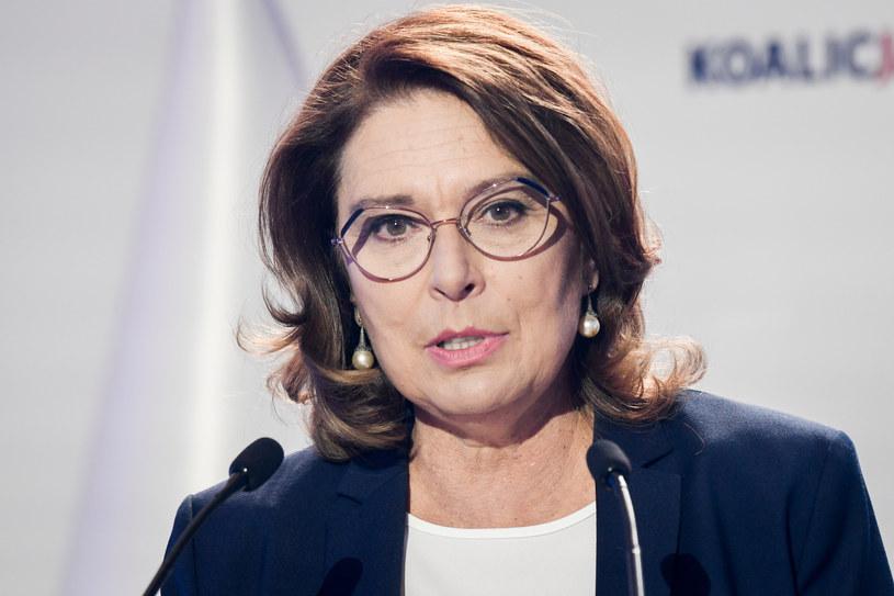 Małgorzata Kidawa-Błońska (Zdjęcie ilustracyjne) /Jacek Dominski/ /Reporter