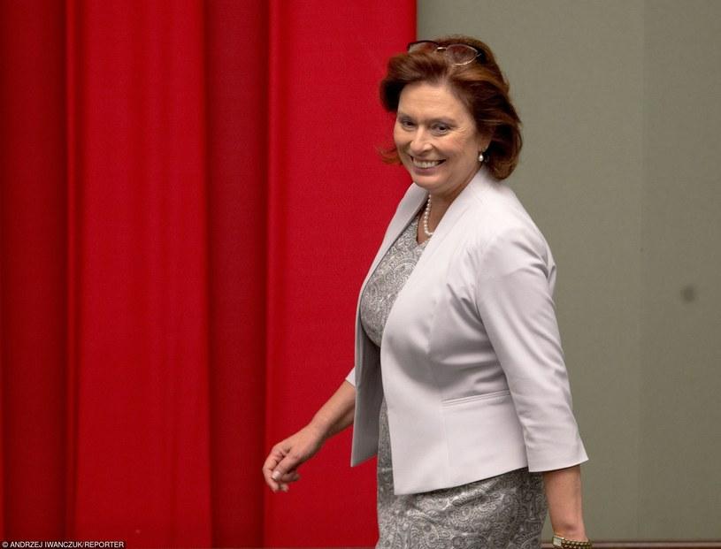 Małgorzata Kidawa-Błońska /Andrzej Iwańczuk /Reporter