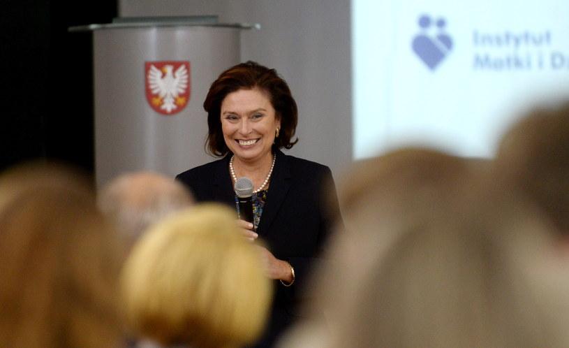 Małgorzata Kidawa-Błońska /Bartłomiej Zborowski /PAP