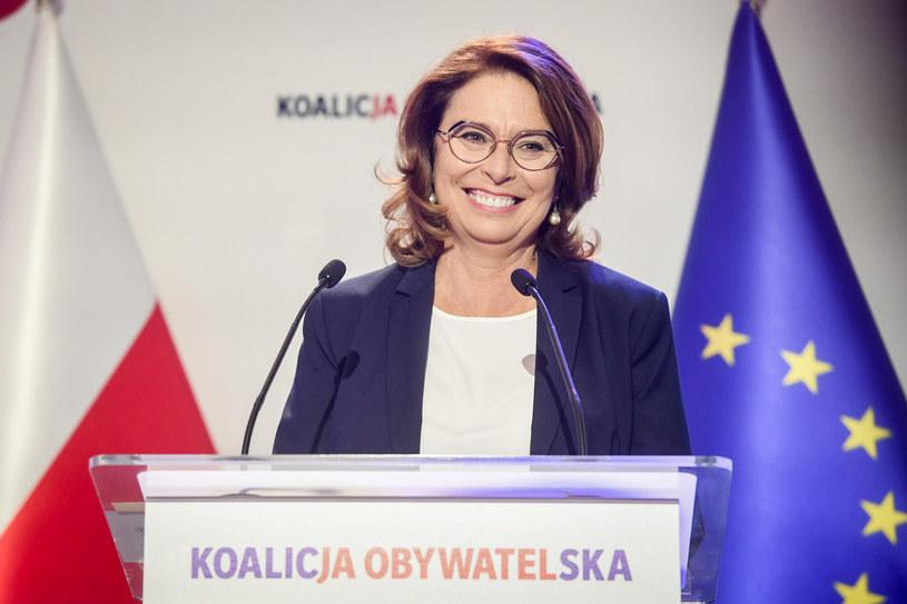 Małgorzata Kidawa-Błońska /Jacek Domiński /Reporter