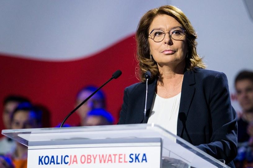 Małgorzata Kidawa-Błońska /Marek Kuwak /Reporter