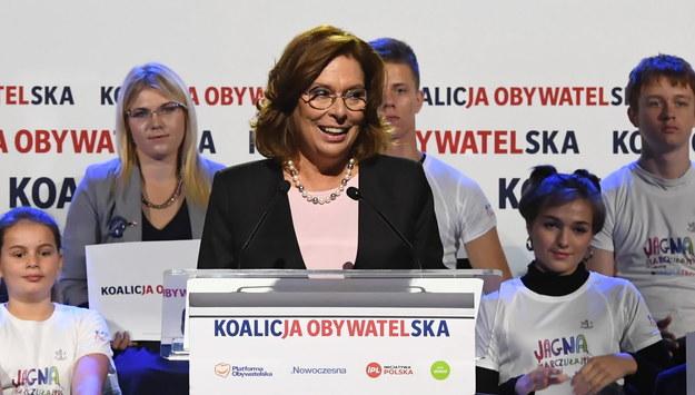 Małgorzata Kidawa-Błońska /Jacek Bednarczyk   /PAP