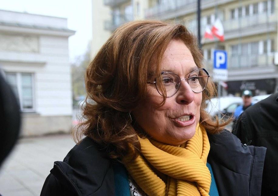 Małgorzata Kidawa-Błońska / Radek Pietruszka   /PAP