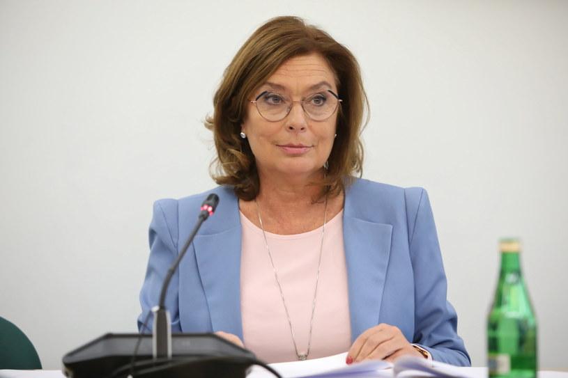 Małgorzata Kidawa-Błońska / Leszek Szymański    /PAP