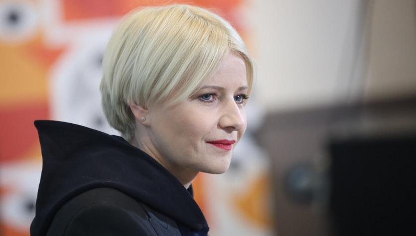 Małgorzata Kożuchowska: Blondynka z pazurem