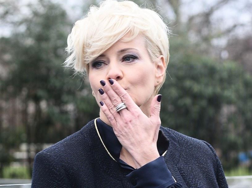 Małgorzata Kożuchowska codziennie wspiera fanów /VIPHOTO /East News