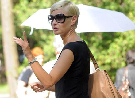 Małgorzata Kożuchowska, fot. Andras Szilagyi /MWMedia