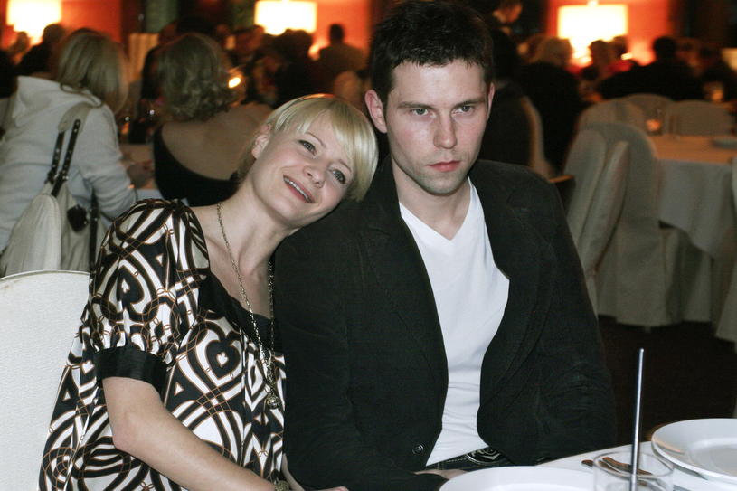 Małgorzata Kożuchowska i Bartłomiej Wróblewski, 2007 rok /Niemiec /AKPA