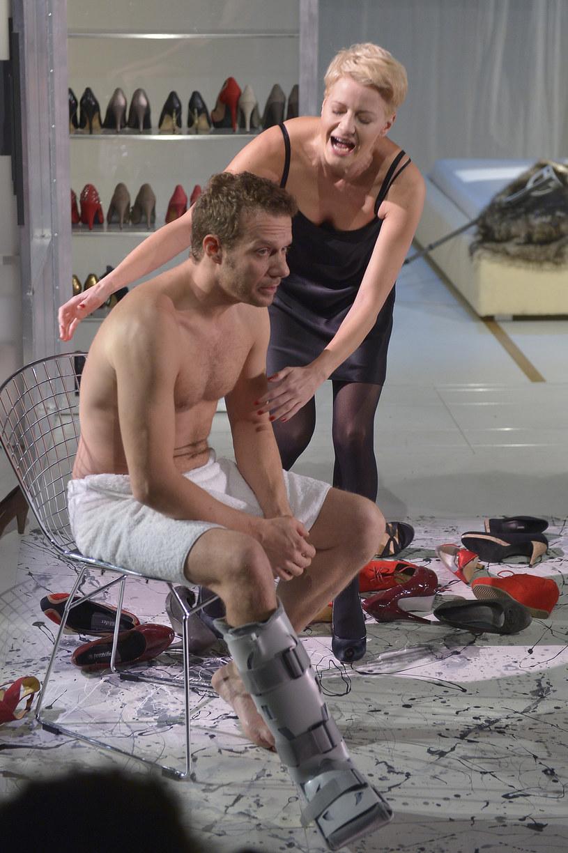 Małgorzata Kożuchowska i Grzegorz Małecki /Kurnikowski /AKPA