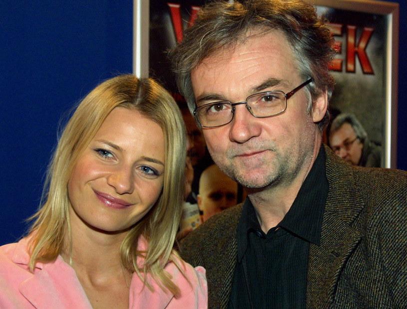 Małgorzata Kożuchowska i Jerzy Pilch /Marek Zawadka /Reporter