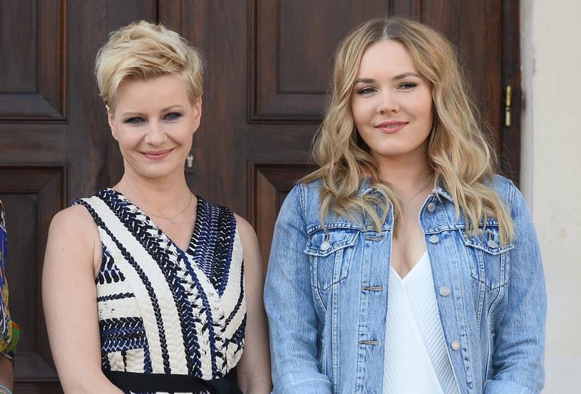 Małgorzata Kożuchowska i Magdalena Lamparska /Jarosław Antoniak /MWMedia