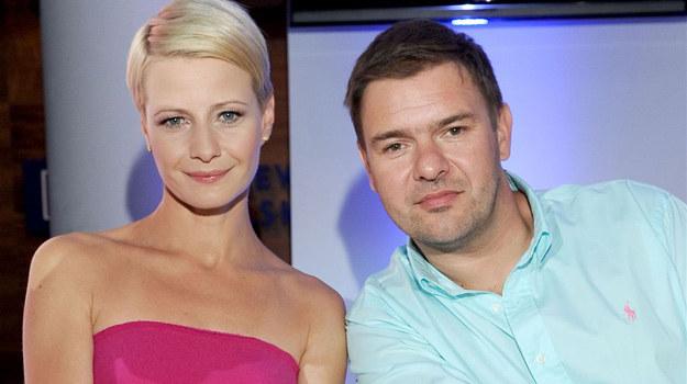 Małgorzata Kożuchowska i Tomasz Karolak grają razem w serialu i w teatrze /Agencja W. Impact