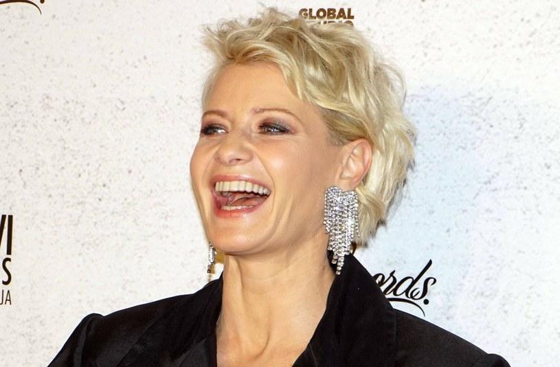 Małgorzata Kożuchowska jest jedną z najbardziej lubianych polskich aktorek. Często zmienia fryzury na potrzeby filmów i seriali /Tricolors /East News