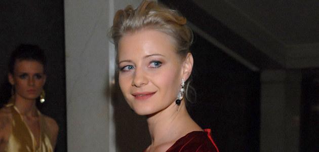 Małgorzata Kożuchowska na gali 15-lecia Polsatu, fot. Andrzej Szilagyi  /MWMedia