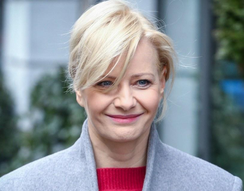 Małgorzata Kożuchowska również pracuje z domu /Kamil Piklikiewicz/East News /East News