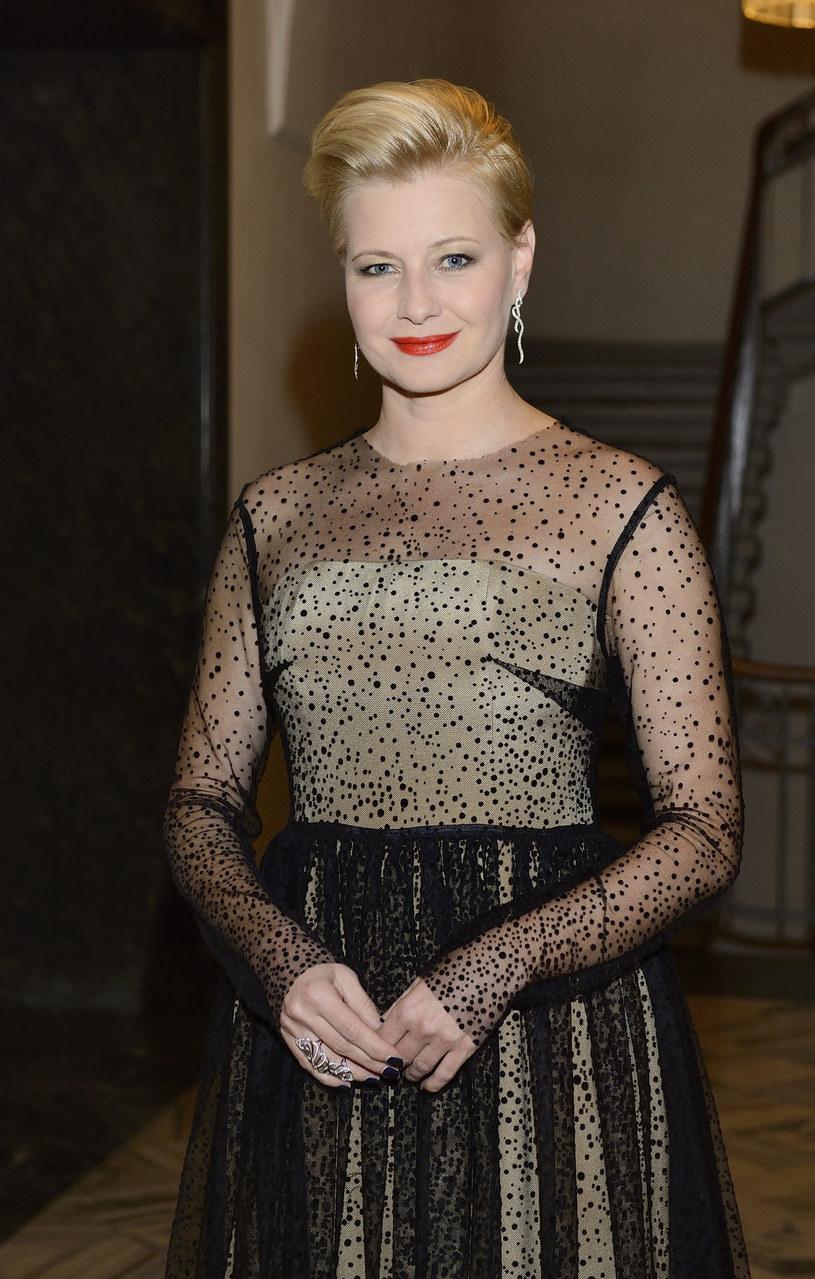Małgorzata Kożuchowska w 2014 roku /VIPHOTO /East News