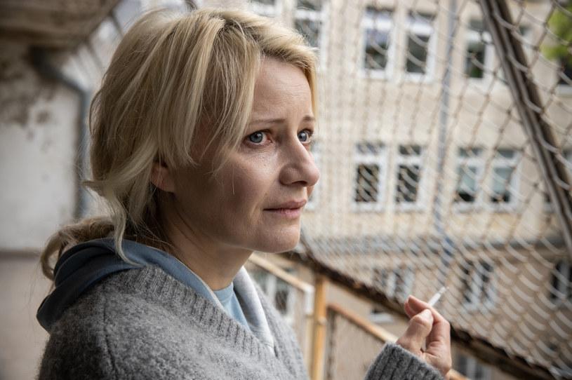 """Małgorzata Kożuchowska w serialu """"Motyw"""" /x-news /TVN"""