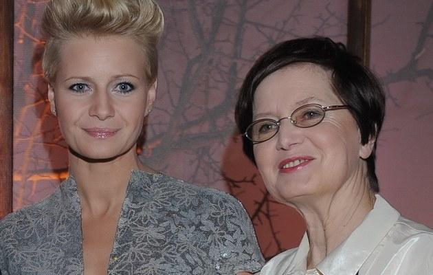 Małgorzata Kożuchowska z mamą /- /MWMedia