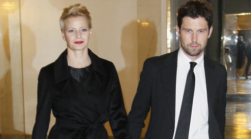 Małgorzata Kożuchowska z mężem, 2012 rok / Engelbrecht /AKPA