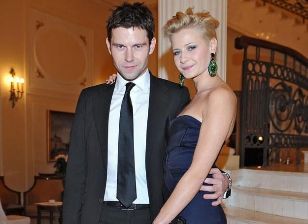 Małgorzata Kożuchowska z mężem Bartkiem Wróblewskim /MWMedia