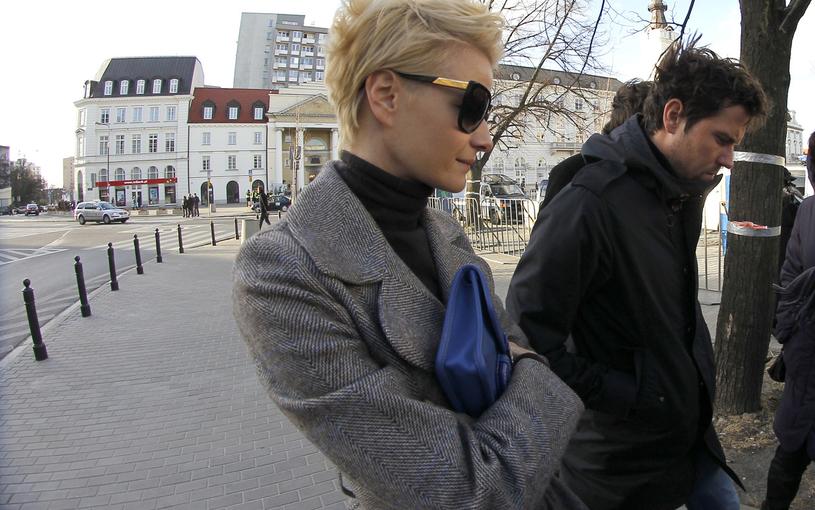 Małgorzata Kożuchowska z mężem /Baranowski /AKPA