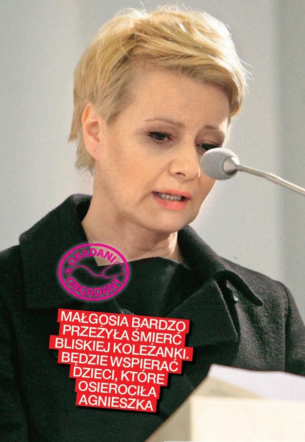 Małgorzata Kożuchowska /Na żywo