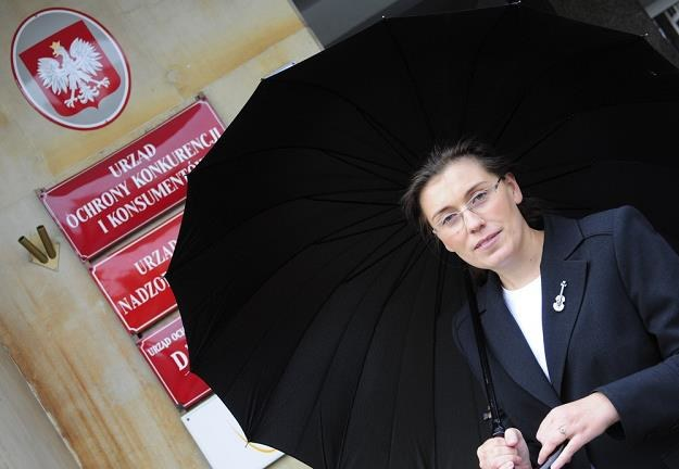 Malgorzata Krasnodebska-Tomkiel, b. prezes UOKiK. Fot. Wlodzimierz Wasyluk /Reporter