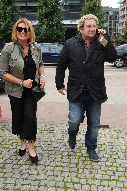 Małgorzata Ostrowska-Królikowska i Paweł Królikowski /Piotr Andrzejczak /MWMedia