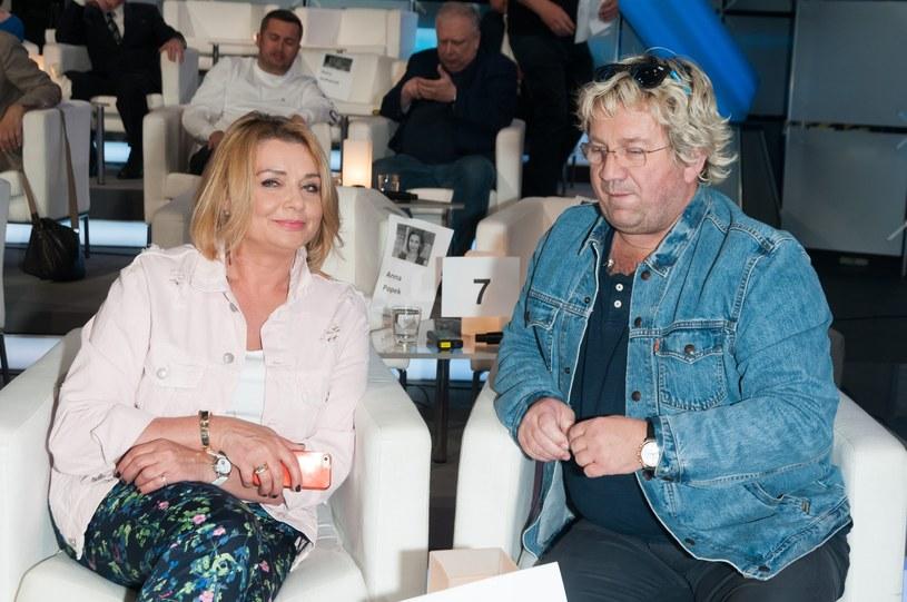 Małgorzata Ostrowska-Królikowska i Paweł Królikowski /Artur Zawadzki/REPORTER /Reporter