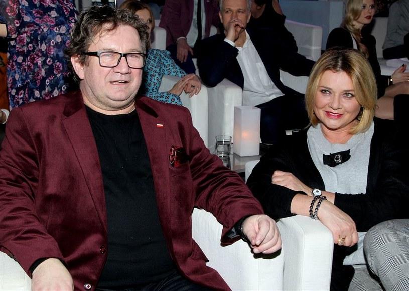 Małgorzata Ostrowska-Królikowska i Paweł Królikowski /AKPA
