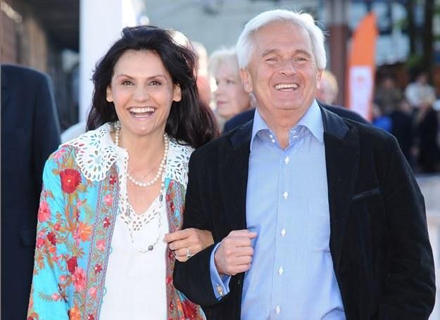 Małgorzata Pieczyńska z mężem / fot. A. Szilagyi /MWMedia