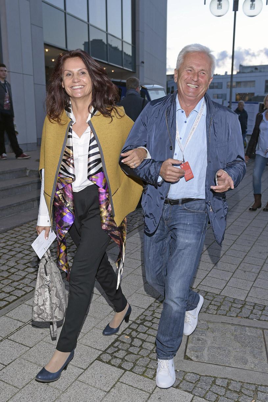 Małgorzata Pieczyńska z mężem /Kurnikowski /AKPA