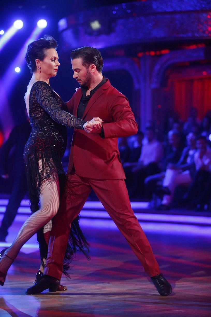 Małgorzata Pieńkowska i Stefano Terrazzino wznieśli się na wyżyny w tango argentino /Baranowski /AKPA