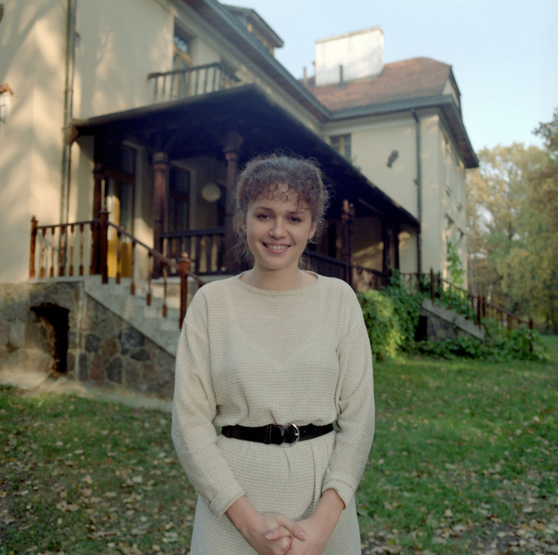 Małgorzata Pieńkowska na zdjęciu w 1989 roku. Prawda, że była przepiękna? /INPLUS /East News