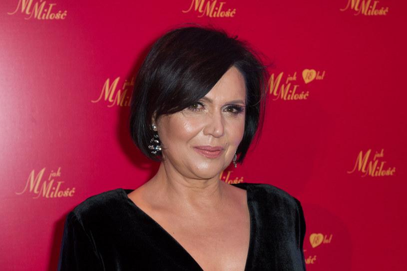 Małgorzata Pieńkowska przyznała, że w walce z chorobą pomogła jej praca w serialu /Artur Zawadzki /Reporter