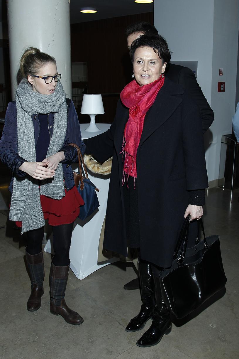 Małgorzata Pieńkowska z córką /Jordan Krzemiński /AKPA