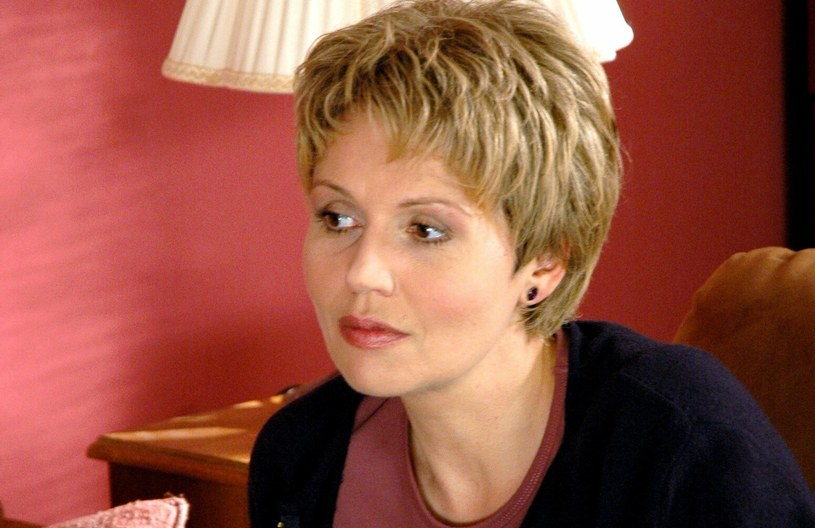 """Małgorzata Pieńkowska zdobyła wielu fanów za sprawą roli w """"M jak miłość"""". Tutaj na zdjęciu w 2005 roku /Tricolors/ Ulatowski Marek  /East News"""